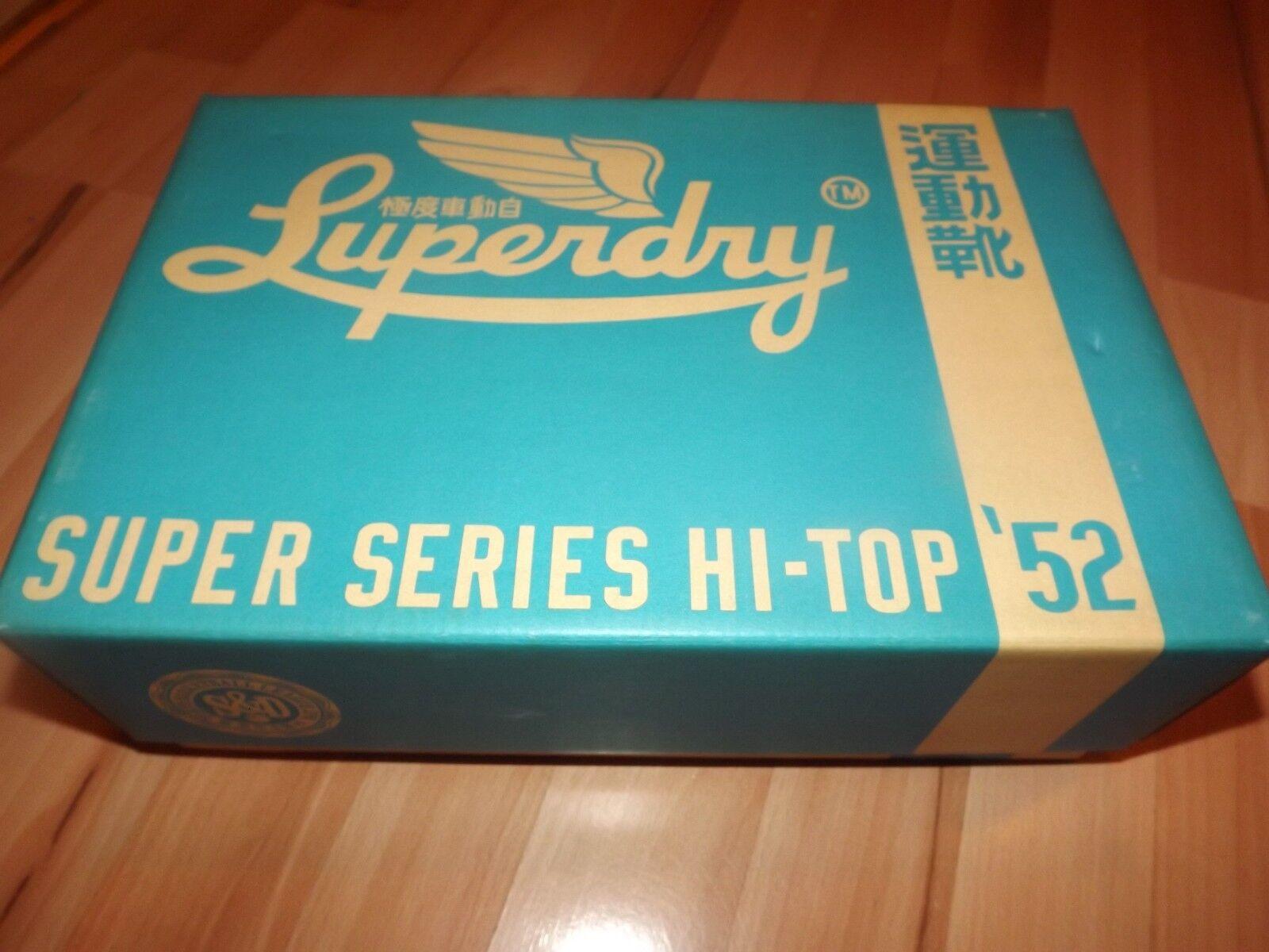 SUPERDRY HIGH TOP SHOES 6 UK (ORIGINAL) SUPER SERIES 52