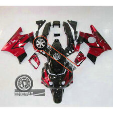 Red Black ABS Fairing Bodywork Kit For Honda CBR600 F2 CBR600F2 91-94 92 93 BAYY