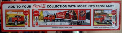 GMC General Tractord Truck Coca-Cola Zugmaschine 1:25 AMT 1179 wieder 2020