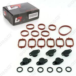 22mm-Aluminium-Noir-Spirale-Clapet-Remplacement-Set-Oring-pour-Opel-Omega-B