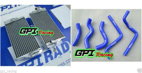 BLUE HOSE Honda CR125 CR125R CR 125  2002 2003 R/&L aluminium radiator