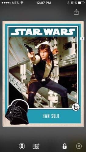 Topps Star Wars Digital Card Trader Han Solo Prime Insert