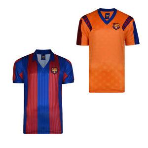 2b027b1c0940 Mens Score Draw Licensed Replica 1992 Barcelona Retro Football Shirt ...