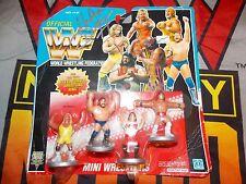 WWF Hasbro 1991 Mini Wrestlers Rowdy Roddy Piper Jim Duggan Signed Autographed