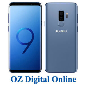 NEW-Samsung-Galaxy-S9-Plus-Dual-Sim-G965FD-128GB-Blue-12MP-4G-6-2-034-Unlocked