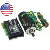 Brushless Motor Driver With Hall Controller 400w Cnc Motor For Spindle Engraving