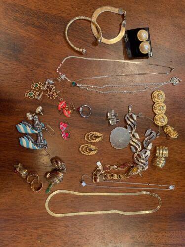 Costume Jewelry Lot, Grandmas Jewelry Lot 2
