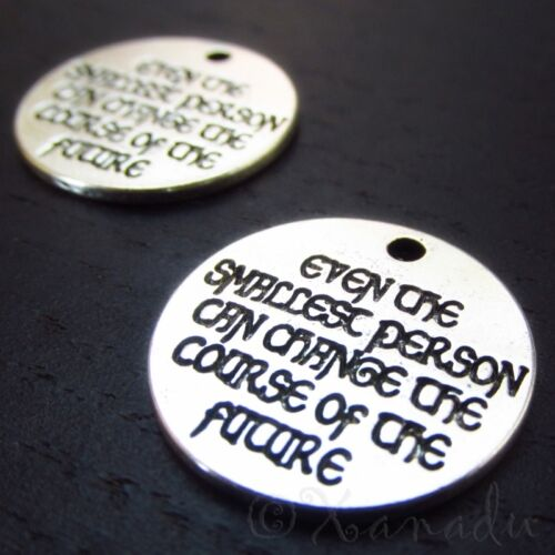 10 20PCs Lord Of The Rings Quote Charm Pendants C0634-5