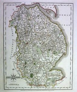 Antique-map-Lincolnshire