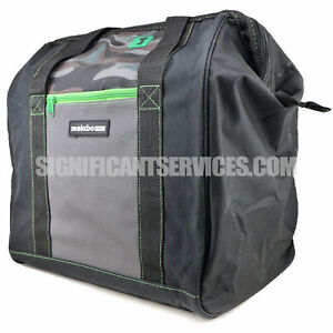 Hitachi 15x12x16 Camo Contractor Tool Carrying Case Bag for Saws Drills Impacts