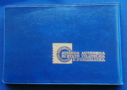 1988 Italy S Marino complete official set 10 coins UNC with silver