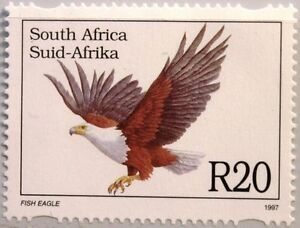 RSA Sudafrica South Africa 1997 1037 animali minacciate grido codabianca bird uccelli **