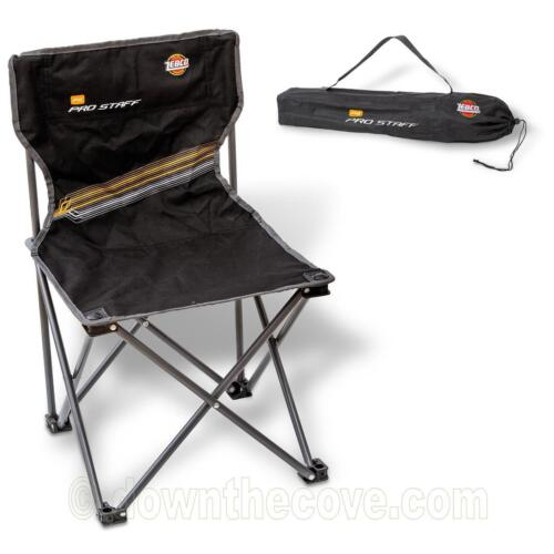 1st Class Post! Zebco Pro Staff Chair Mini Strong Compact Chair for Fishing