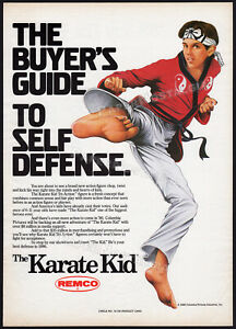 KARATE-KID-Original-1986-Trade-print-AD-poster-REMCO-Tri-Action-Figure-promo