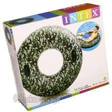 """Intex One 47"""" Camouflage Tube w/ Handles - 58265 - 1 Inflatable Float"""