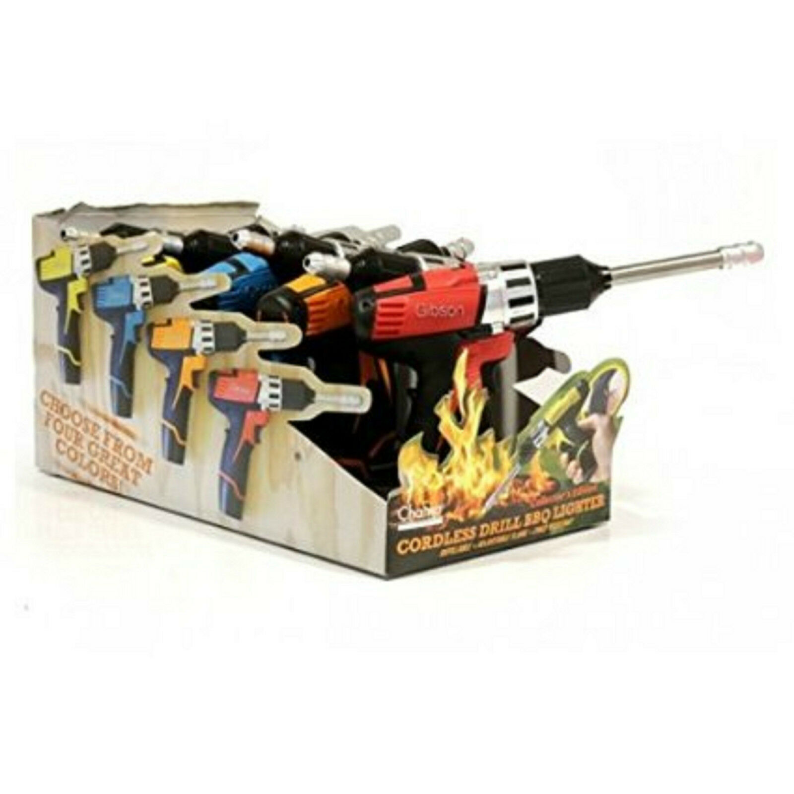 Lot de 8 ALLUME GAZ PERCEUSE code 21593920