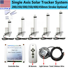 12v Linear Actuator With Solar Tracker Controller Diy Single Axis Solar Panel Kits