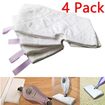 4 Pack Shark Steam Pocket Mop Pads Standard Replacement S3501 S3601 S3550 S3901