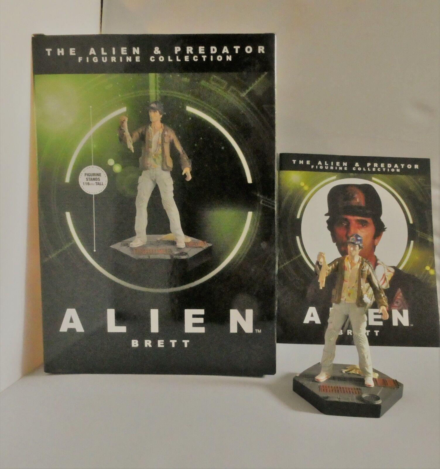Eaglemoss aliens samuel elias brett '(alien, 1979) sammler zahlen