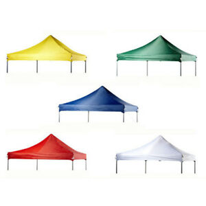 Pop-Up-Canopy-Top-Replacement-Patio-Outdoor-Sunshade-Tent-Cover-For-10ftx10ft