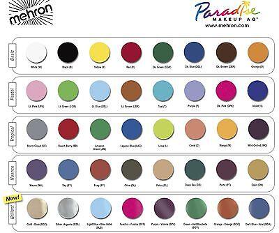 Mehron Paradise Makeup AQ Face & Body Paint 40g 1.4 oz Professional Size
