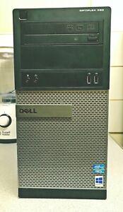 Dell Optiplex 390 Desktop PC Intel Core i3 2120 3.30GHZ 4GB RAM 500GB Win10
