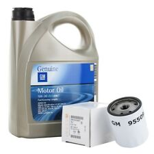 ORIGINAL GM Opel Motoröl 5W30 5W-30 Dexos2 LongLife 5 Liter + Ölfilter 650104