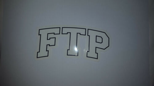 FTP STICKER DECAL FCKING AWESOME F*CKING F CKING FUCT FUCKTHEPOPULATION FA