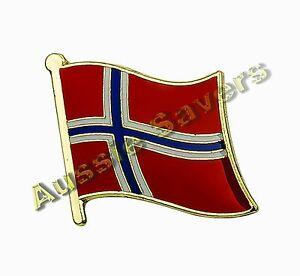NORWAY-FLAG-ENAMEL-PIN-BADGE-BNIP