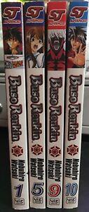 Buso-Renkin-Volumes-1-5-9-10-by-Nobuhiro-Watsuki-Manga-Graphic-Novel