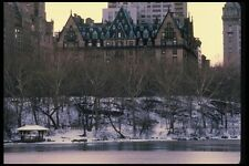 148096 Dakota In Winter From Central Park A4 Photo Print