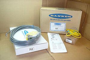 59507-Banner-NEW-In-Box-Ultrasonic-Sensor-Q45UR3L-IU64C6KQ-W30-039-Q13C2-0-59424