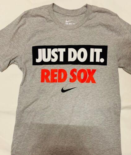 New Boston Red Sox Nike just do It short Sleeve T shirt MLB Baseball Mens Multi
