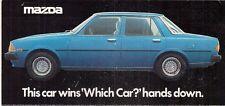 Mazda Montrose 1979 UK Market Foldout Sales Brochure 1600 2000 GL GLS