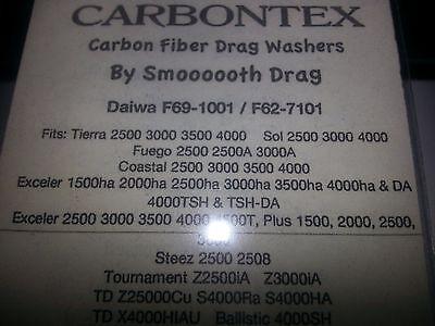 3000 4000 Daiwa carbontex drag TD-FUEGO 2000