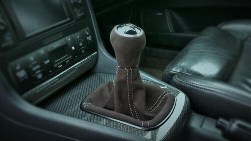 gearknob genuine alcantara Retrimming service Audi B5 S4//RS4