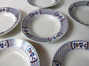 6-anciennes-assiettes-creuses-en-ceramique-Luneville-modele-Rouennais