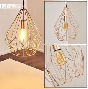 Lampe à suspension Retro Plafonnier Design Lustre de cuisine Doré ...