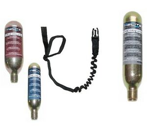 HELITE-veste-airbag-cable-gilet-recharge-cartouche-CO2-gaz-air-bag-CO-NEUF