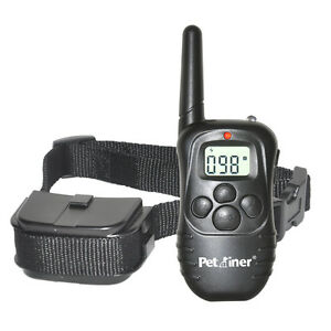 Petrainer-300-Yard-Dog-Training-Collar-Electric-Shock-Collar-With-Remote-Control