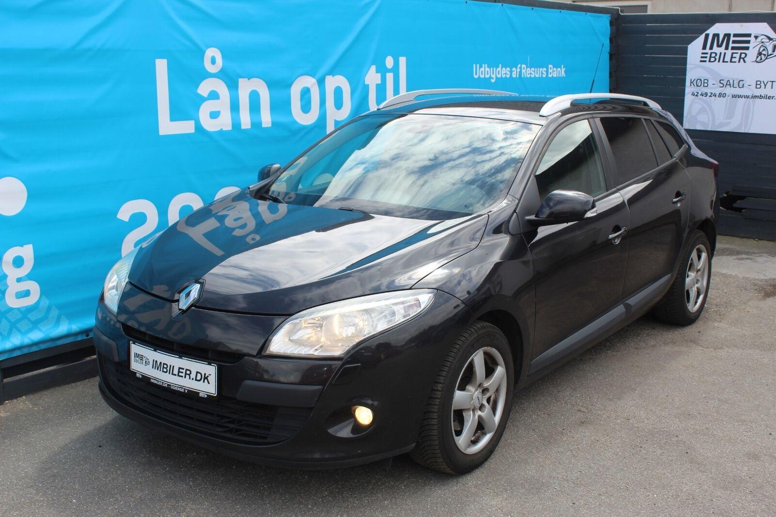 Renault Megane III 1,5 dCi 90 Expression ST 5d - 34.900 kr.