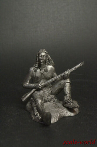 Wild West Ti a Millatuna 54 mm figure Tin soldier