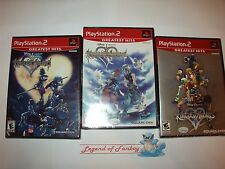NEW Kingdom Hearts Trilogy 1 + 2 + Re: Chain of Memories Sony ps2 PlayStation 2
