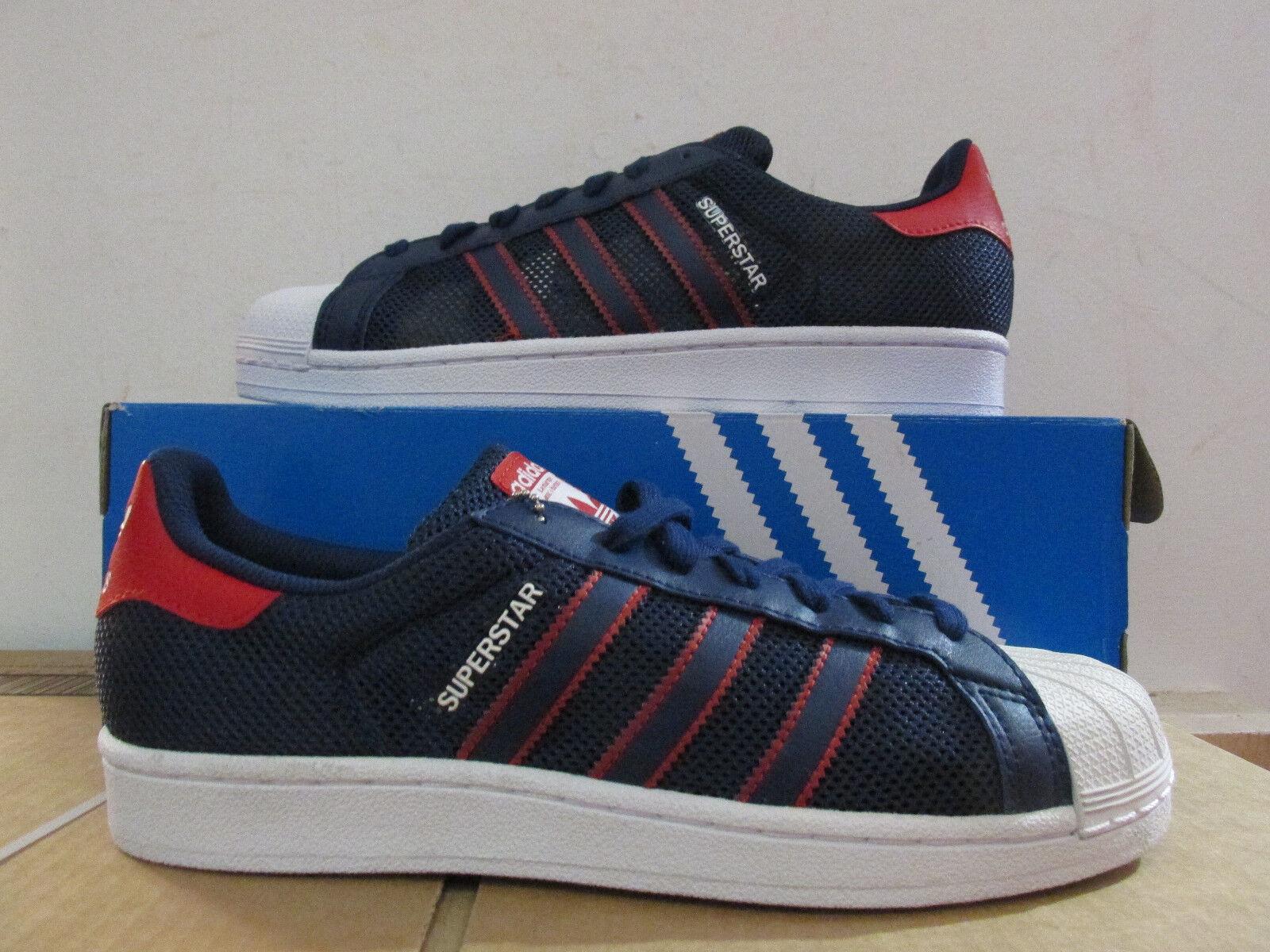 Adidas Original Superstar Herren Turnschuhe BB5395 Turnschuhe Ausverkauf