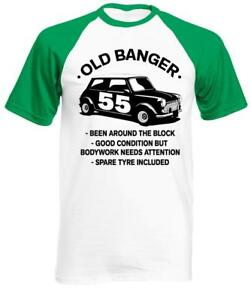 Image Is Loading 55 Year Old Banger T Shirt Classic Mini