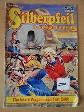 SILBERPFEIL Nr. 256 Der letzte Wagen nach Fort Cobb Bastei-Verlag Orginal