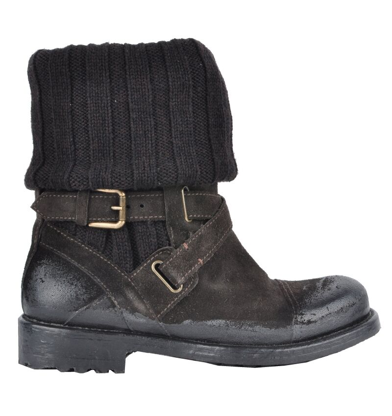 Dolce & gabbana runway boots shoes winter boots braun brown boots 02916