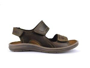ENVAL SOFT 7220211 Sandalen Schuhe Leder Weich Herren Memory Komfort