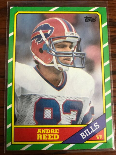 841d879f3a6 1986 Topps Andre Reed Buffalo Bills  388 Football Card for sale ...