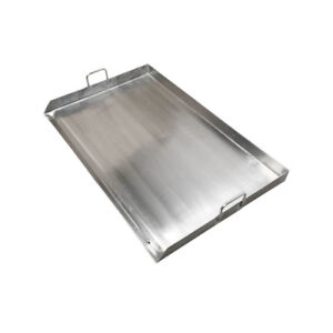 Heavy-Duty-32-034-Stainless-Steel-Flat-Top-Griddle-Grill-Plancha-for-Double-Burner